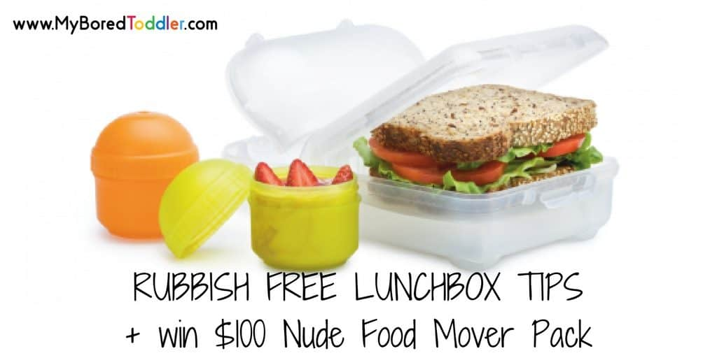 Tips for a rubbish free lunch box