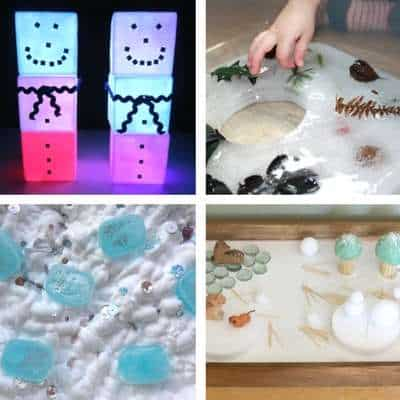 Winter Sensory Play Ideas For Toddlers My Bored Toddler