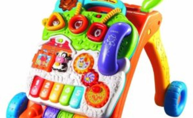 Vtech Sit To Stand Walker Best Toys For A 1 Year Old My