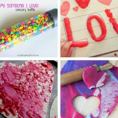 kids valentine's day activities toddlers and preschoolers