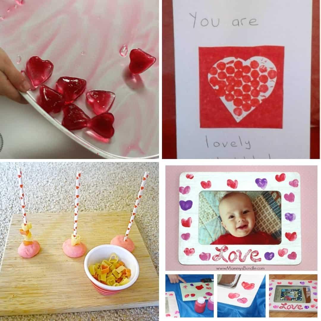 Valentine's Day crafts for toddlers valentine's day activities for 1 year olds 2 year olds 3 year olds