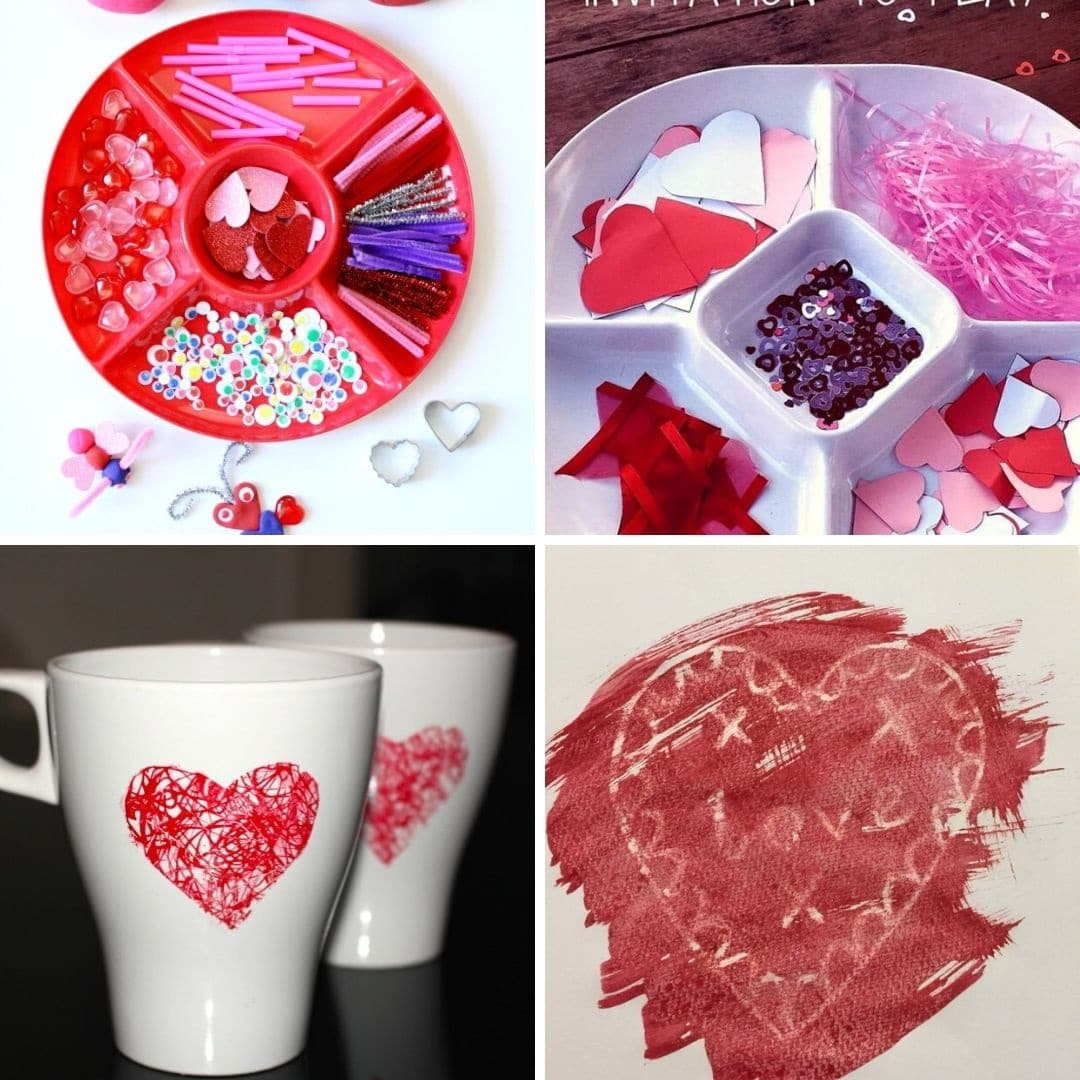 toddler valentines crafts and activities - easy toddler crafts for valentines day