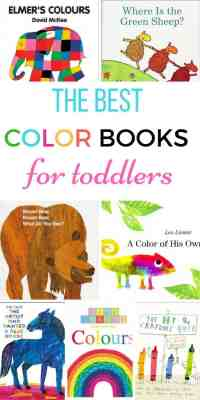 Color Books for Toddlers - My Bored Toddler