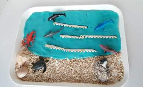 ocean play dough image 2