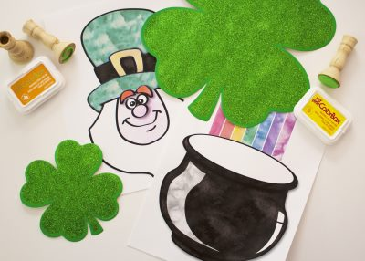 Easy St. Patrick's Day Stamping