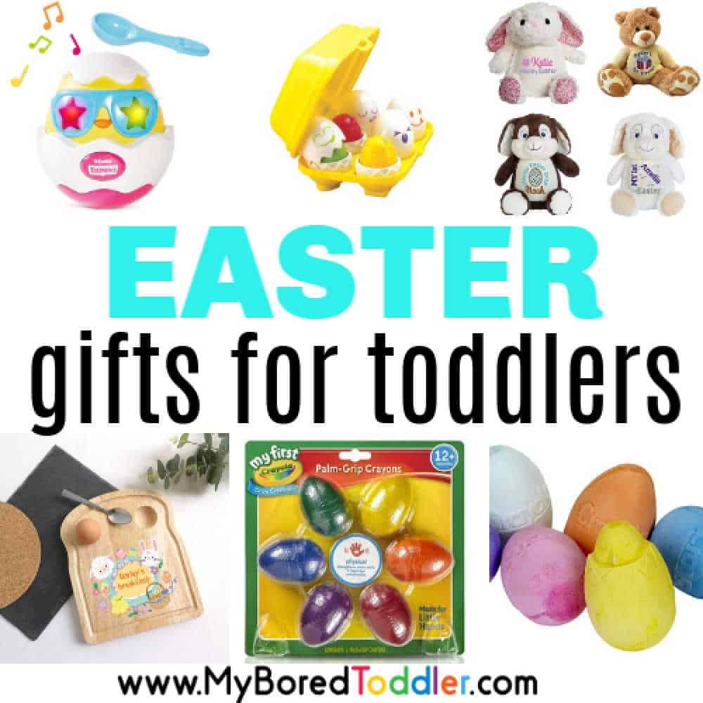 Non chocolate Easter gifts for toddlers