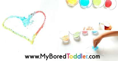 salt and glue process art activity for toddlers feature