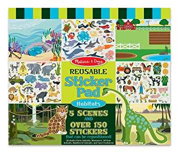Melissa and doug reusable sticker scenes mess free craft for toddlers