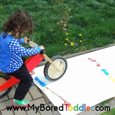 giant process art for toddlers supplies