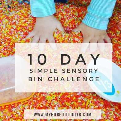 SIMPLE SENSORY BIN CHALLENGE