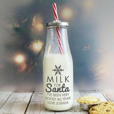 Santa Milk Jug