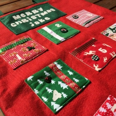 personalized Christmas advent calendars