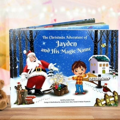 personalized Christmas story