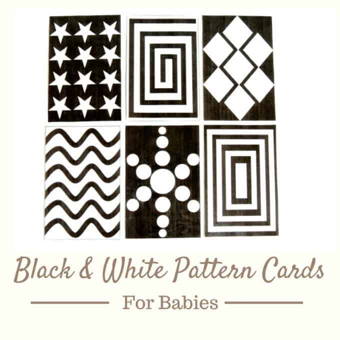 graphic about Printable Pattern named Black and White Behavior Playing cards for Little one Belly Year - My Bored