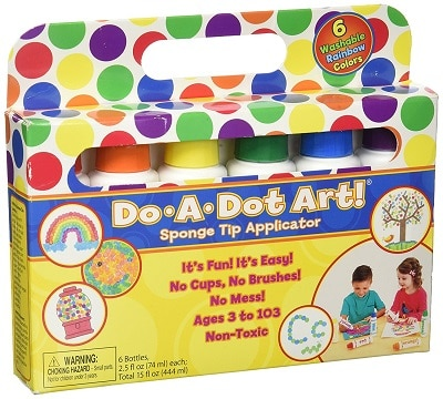 washable do-a-dot markers