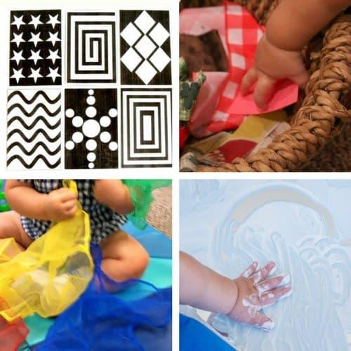 sensory play ideas for babies