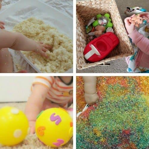 Sensory Play Ideas for Babies 2