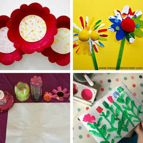Spring Crafts for 2 and 3 year olds image 1