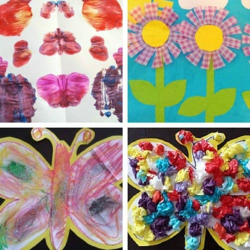Spring Crafts for 2 and 3 year olds image 4