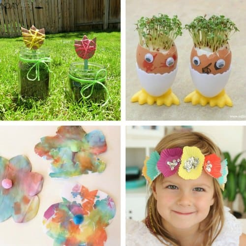 Featured 5 Spring Projects: Spring Crafts For 2 And 3 Year Olds