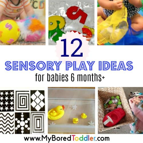 easy sensory play ideas for babies