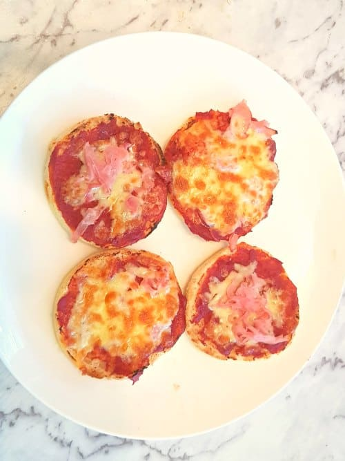 finished easy english muffins for toddlers