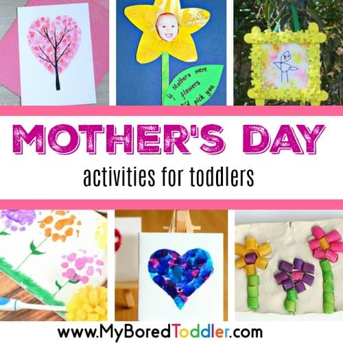 Mother's Day Activities for Toddlers to Make