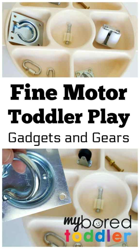 gadgets and gears toddler activity pin image