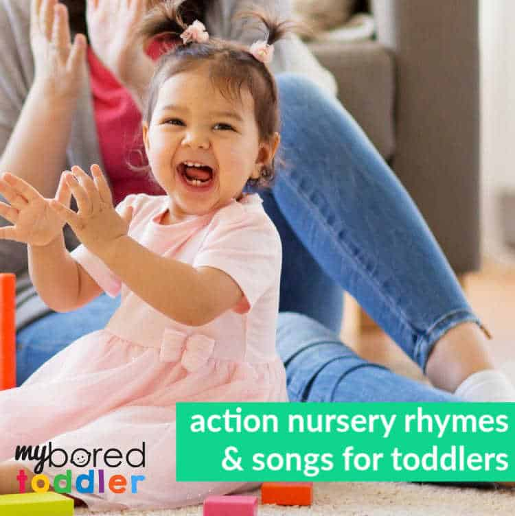 11 Action Nursery Rhymes and Songs for Toddlers