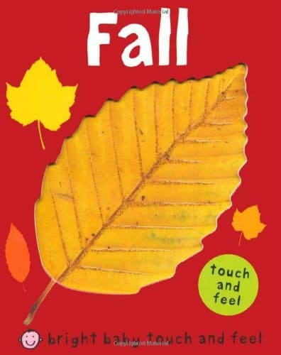 Fall books for toddlers Fall baby touch and feel book
