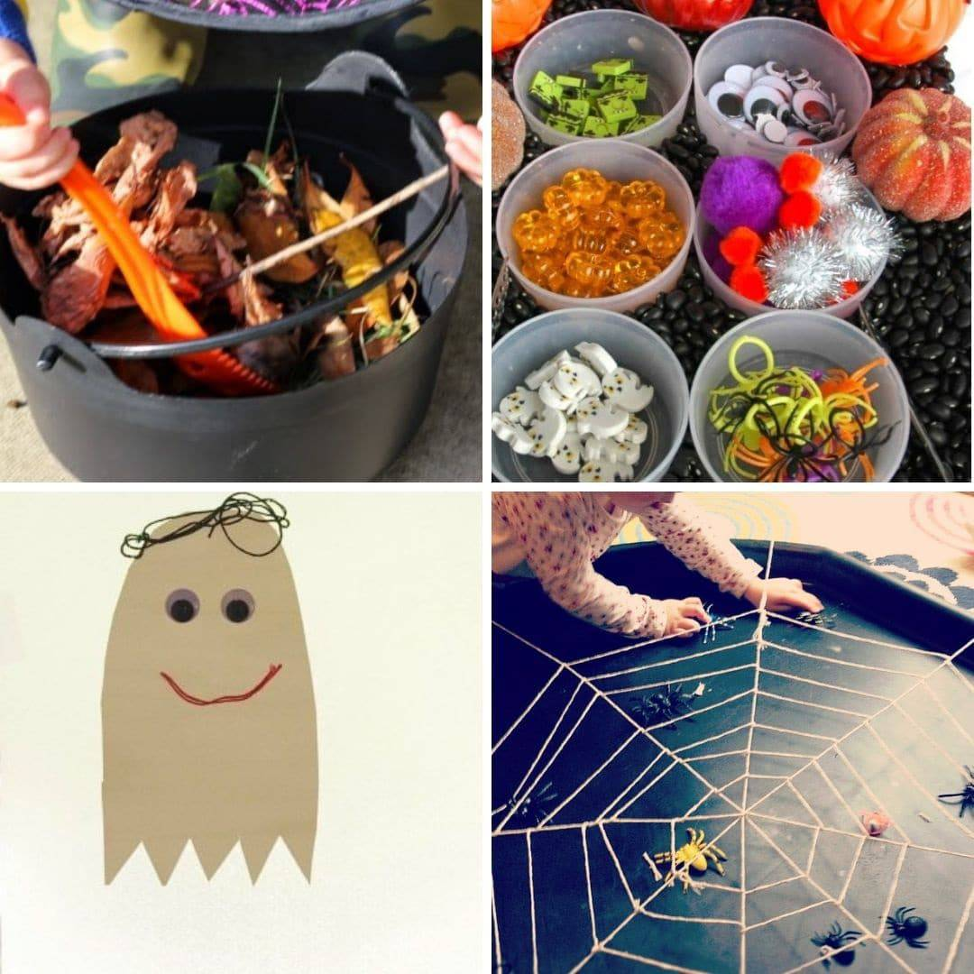 Halloween crafts for toddlers 2