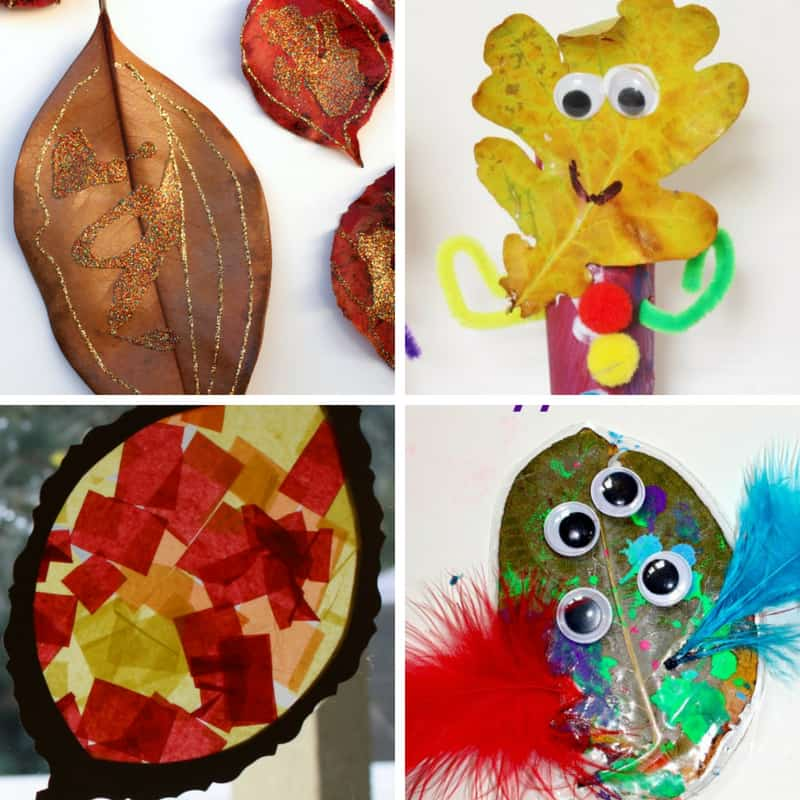 fall leaf crafts and activities for toddlers - My Bored Toddler