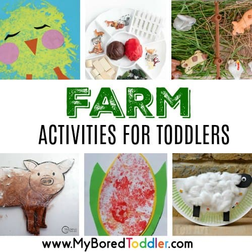 Farm Activities for Toddlers