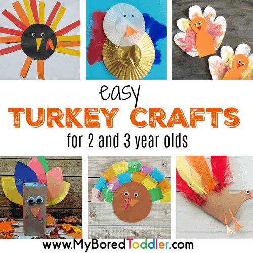 Easy Turkey Crafts For Toddlers To Make My Bored Toddler