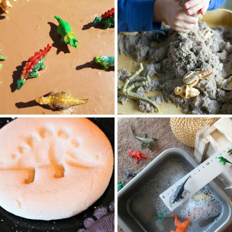 Dinosaur activities for toddlers 2 and 3 year olds easy fun
