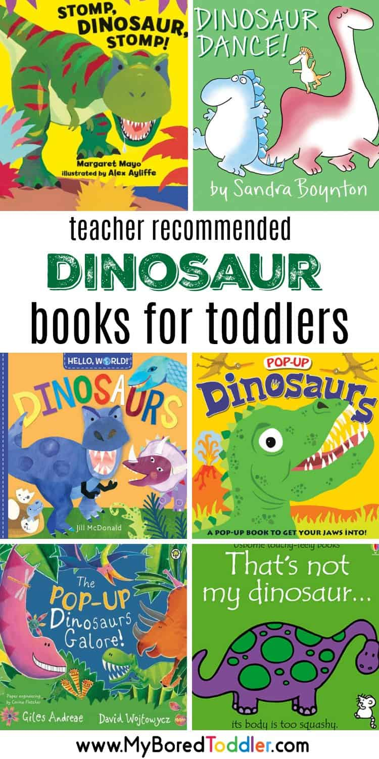 dinosaur books for toddlers preschoolers 1 year olds 2 year olds 3 year olds board books