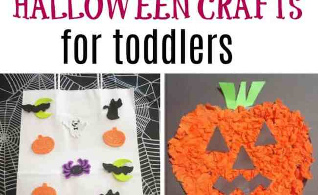 Easy Halloween Crafts For Toddlers My Bored Toddler