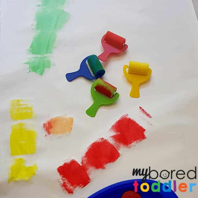 easy christmas crackers paint set up (1)