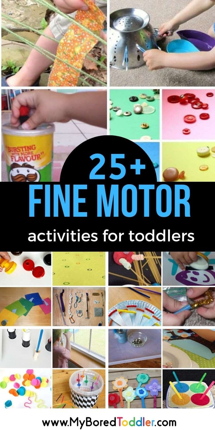 fine motor activities for toddlers pinterest