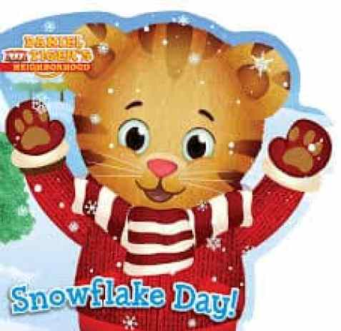 Snowlfake Day Daniel Tiger Book for Toddlers