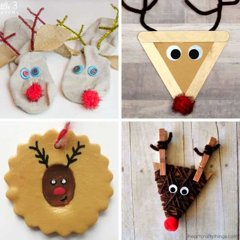 reindeer crafts for kids