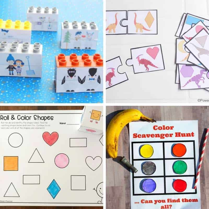 printables for fun and learning for kids age 2 to 5