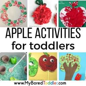 Apple Activities for Toddlers