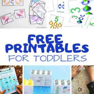 free printables for toddlers