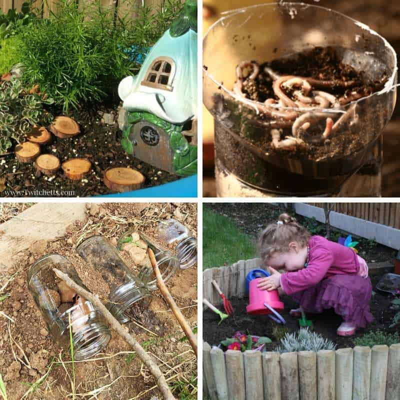 ideas for activities with toddlers in the garden