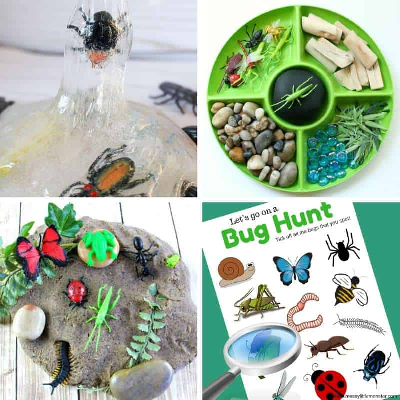 activities with insects for toddlers to do