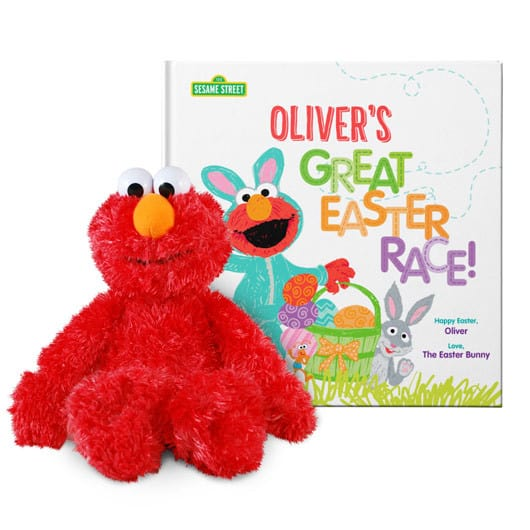 the great easter race personalized Easter book for toddlers