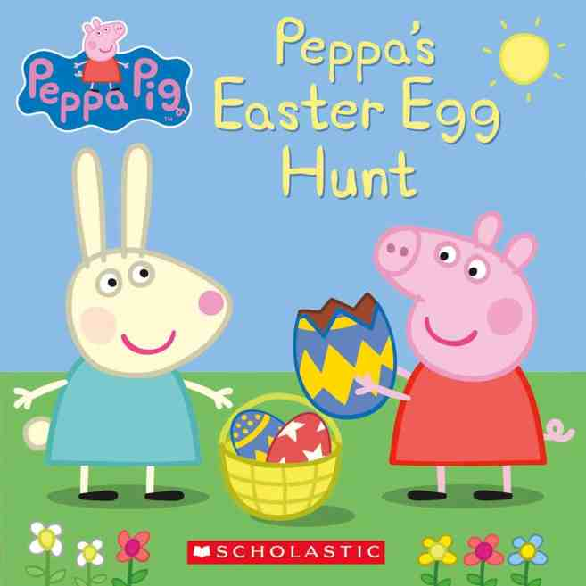 peppa's easter egg hunt - best easter themed books for toddlers