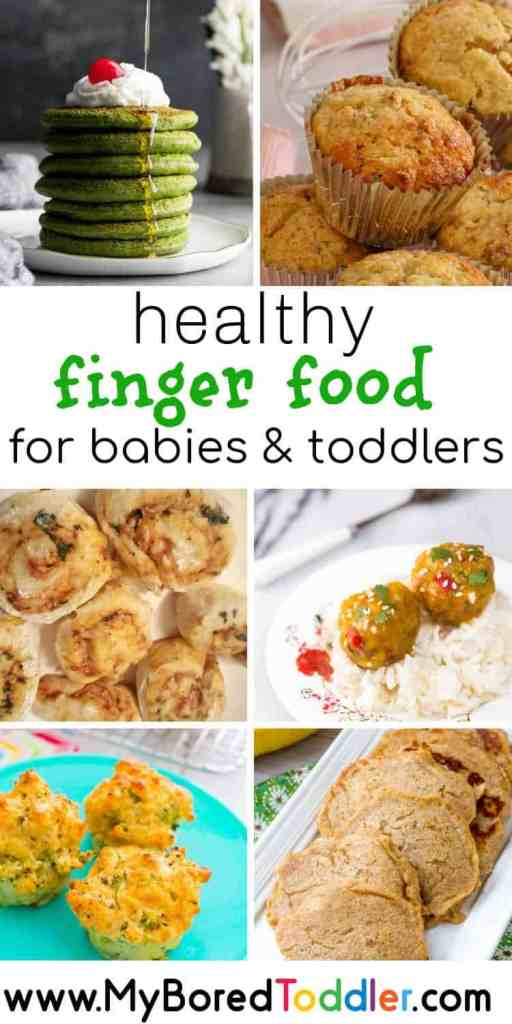 Healthy finger food for toddlers and babies baby led weaning snacks