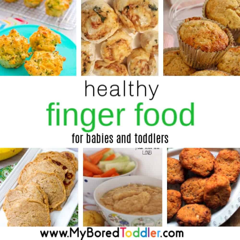 Healthy Finger Foods for Toddlers – perfect for snacks on the go!